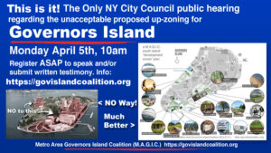City Council hearing April 5, 2021