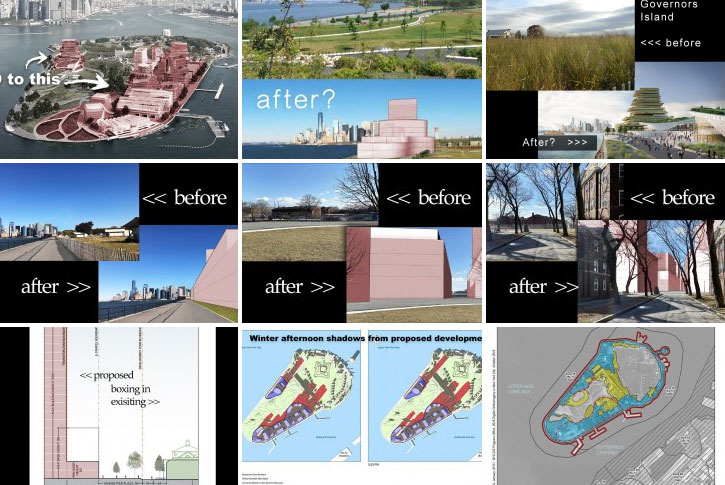 Governors Island - before/after gallery